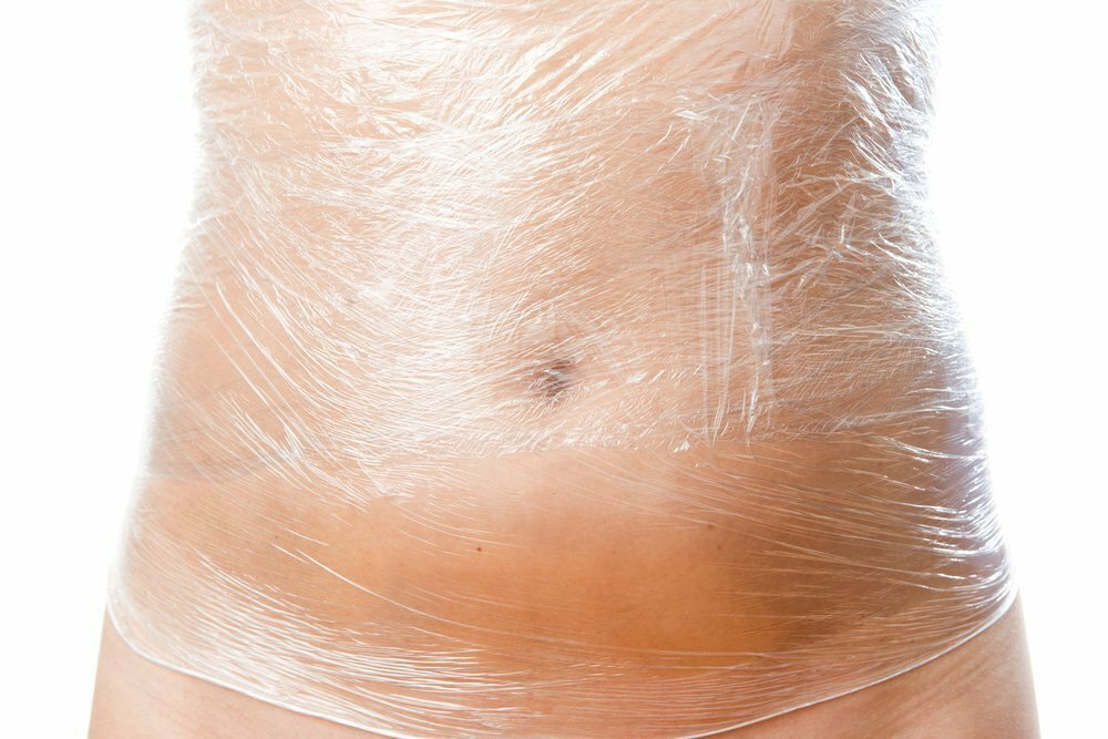 обертывания для похудения на живот