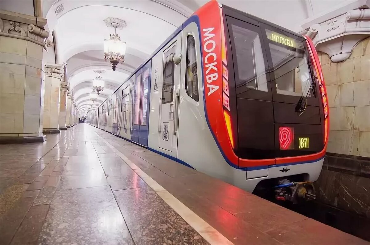 Московское метро поезда картинки