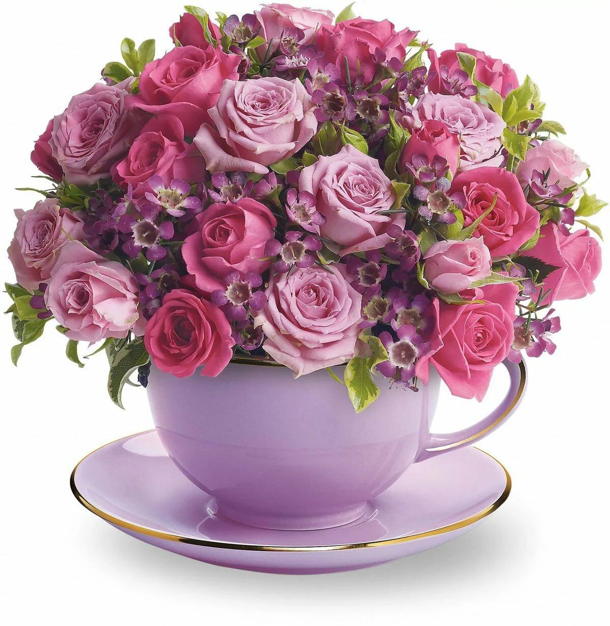 Доброе утро букет роз открытка, картинку