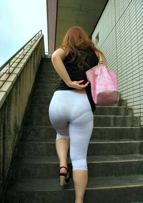 Milf in pants