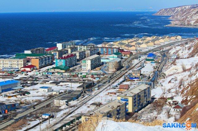 Сахалинская область фото города