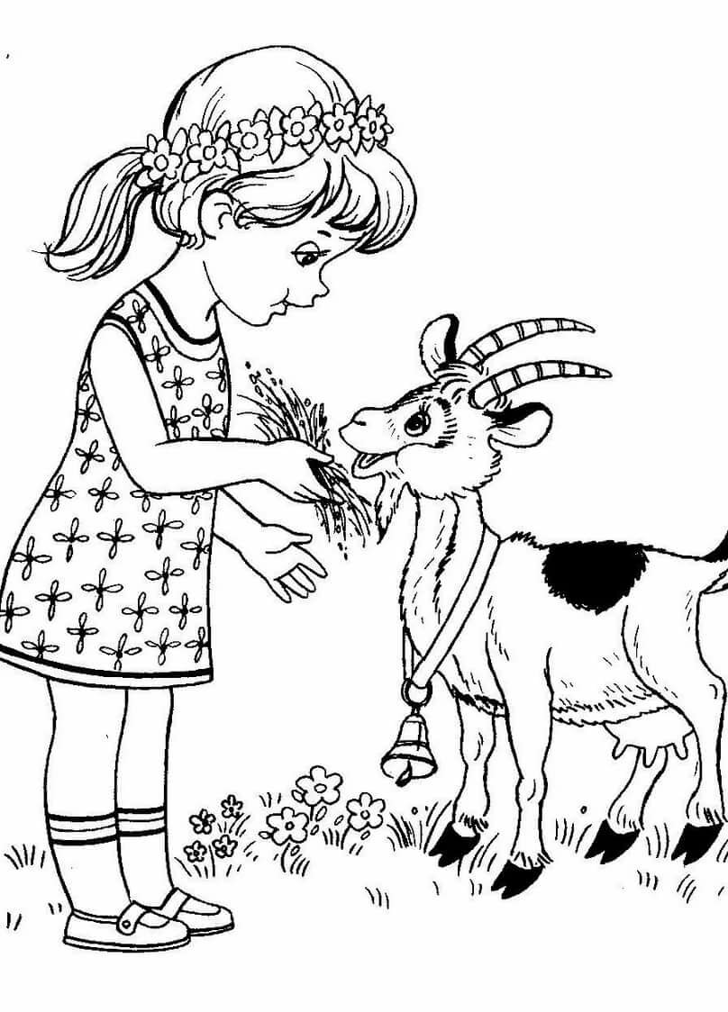 управляет рисунок маршак сказка про козла карандашом сопровождаются