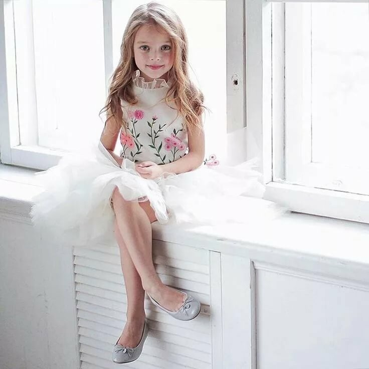 Young girl dress up hot
