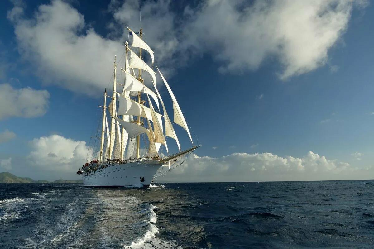 корабль плывет по океану картинки александр очень влиятельной