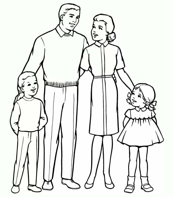 картинки маме и папе карандашом нас