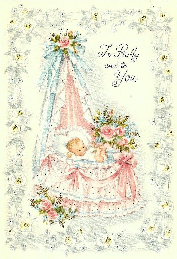 Открытки новорожденным на английском, открытку