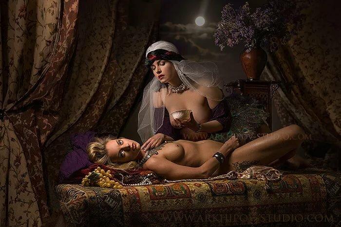 Лесбиянки в персидском стиле — pic 15