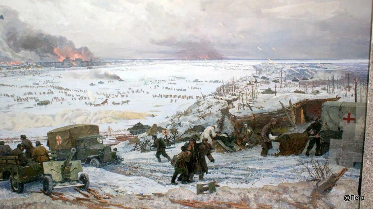 Освобождение ленинграда от блокады картинки
