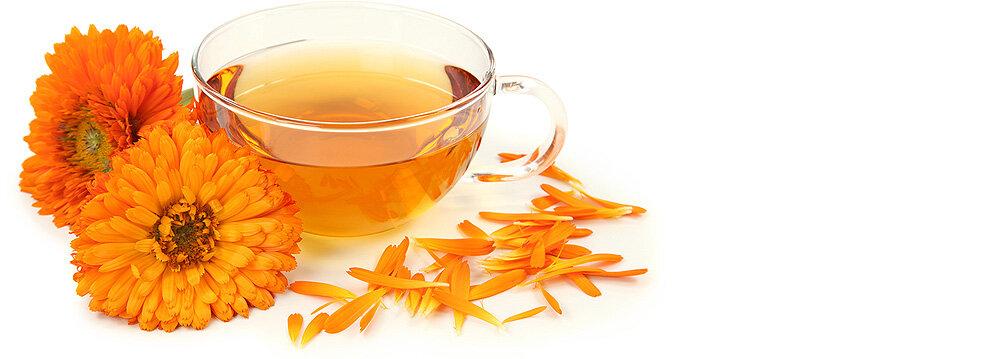 многих чай из календулы картинки три