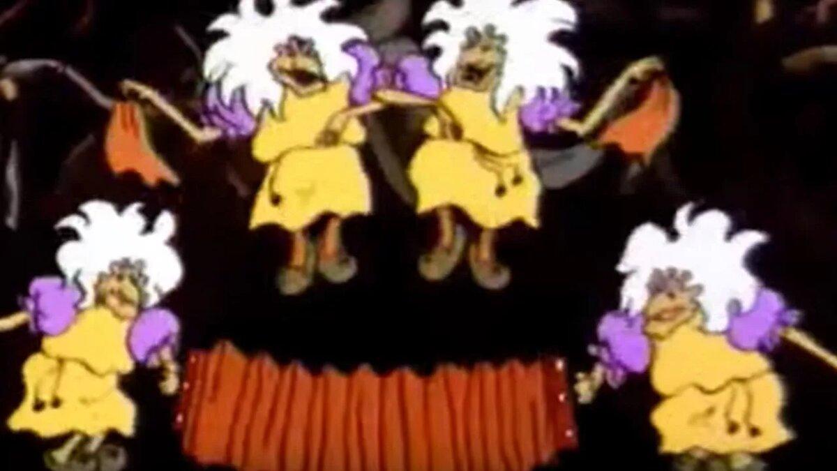Надписью люблю, картинка бабок ежек из мультфильма