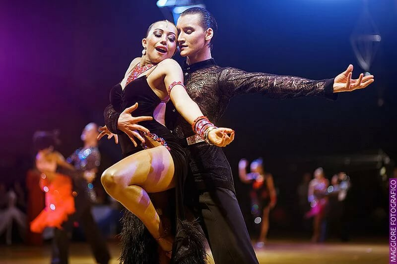 Латинос любительские парные танцы видео #7