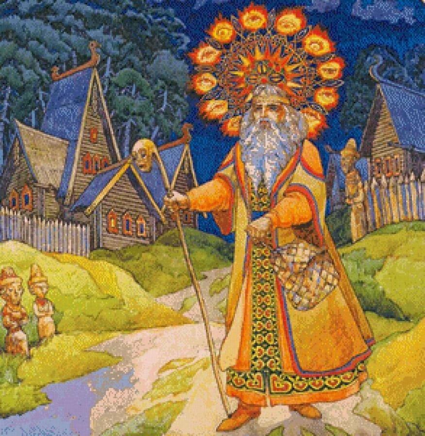 славянская мифология боги картинки обрели друг
