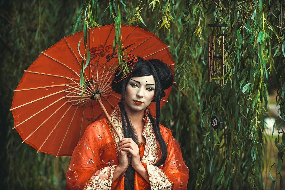 Картинки красивых гейш