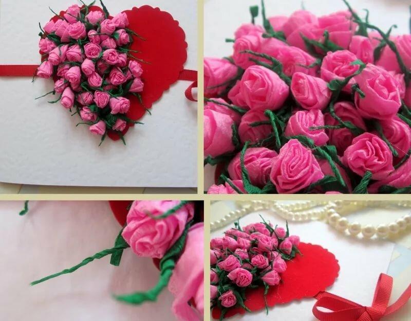 Открытка с розами своими руками для детей, картинки бургерами