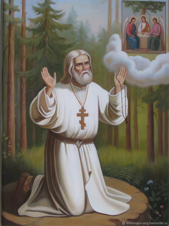 Монашество Серафима Саровского