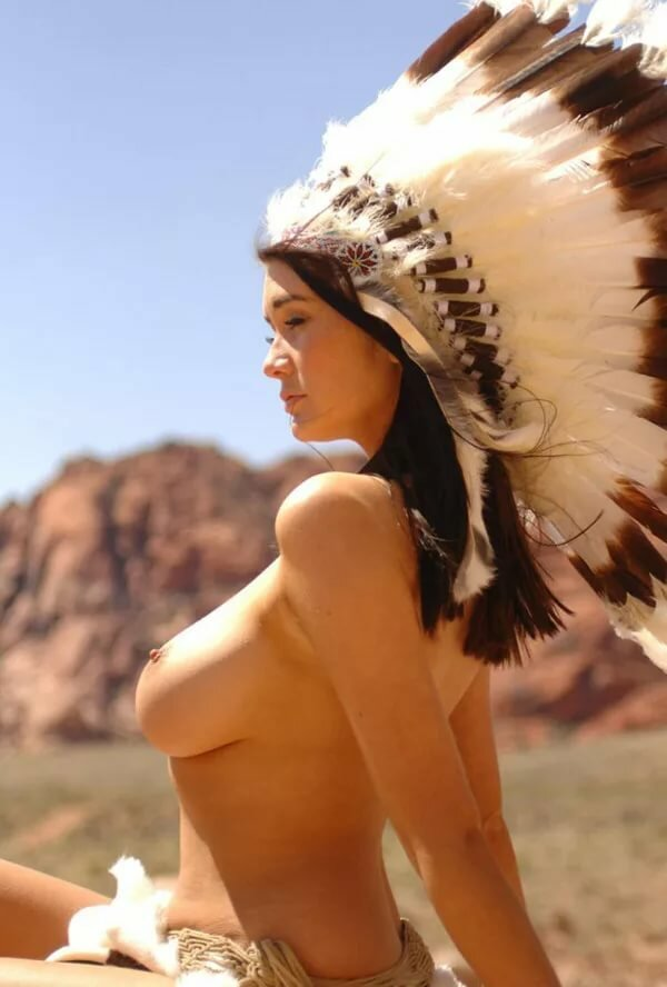 Naked native american, annette xxx