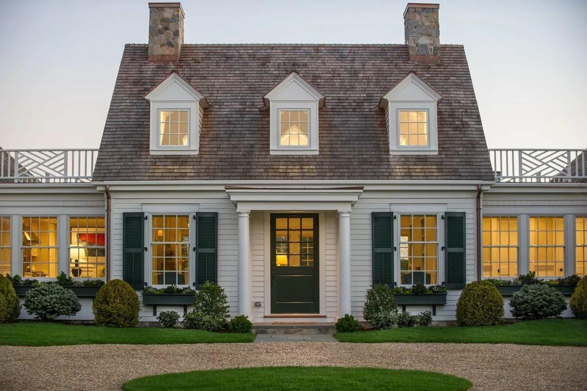 дом в английском стиле фасад фото избежать этого
