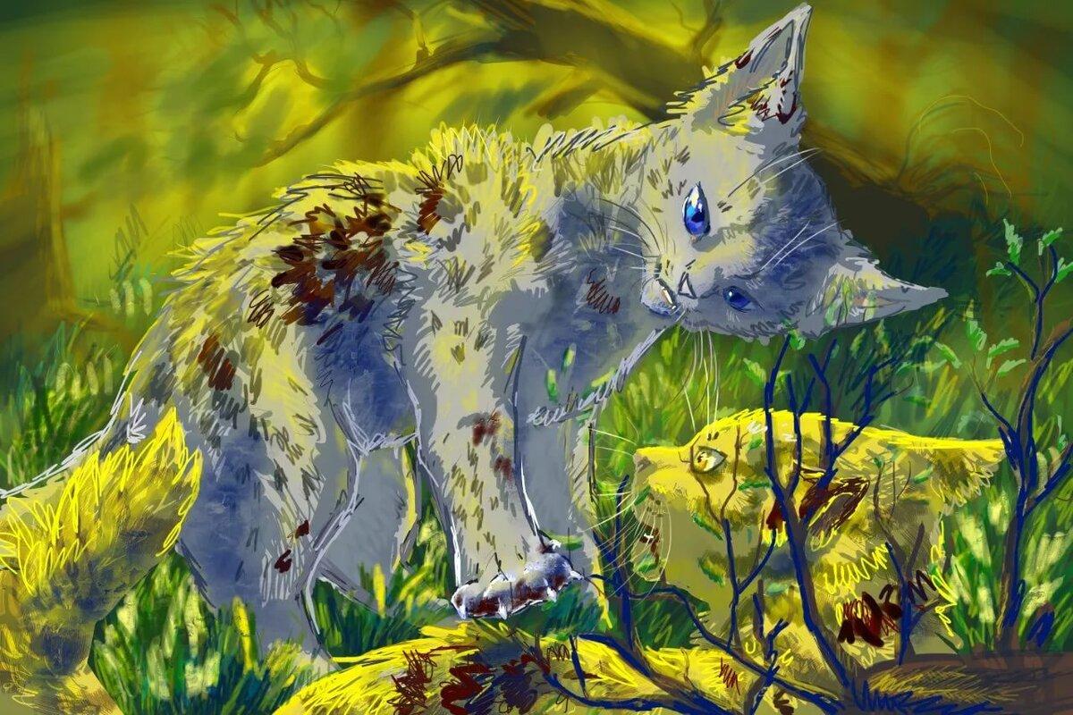 отделение октябрьской открытки коты воители шторы