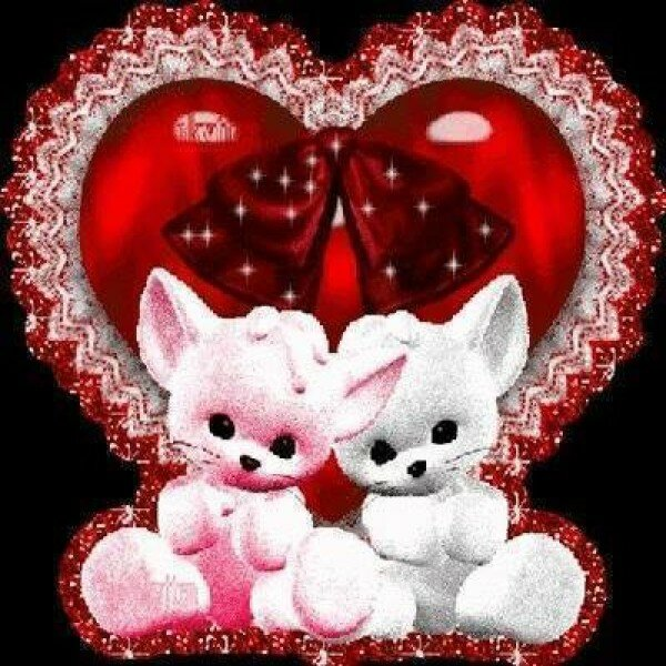 Гифки валентинок
