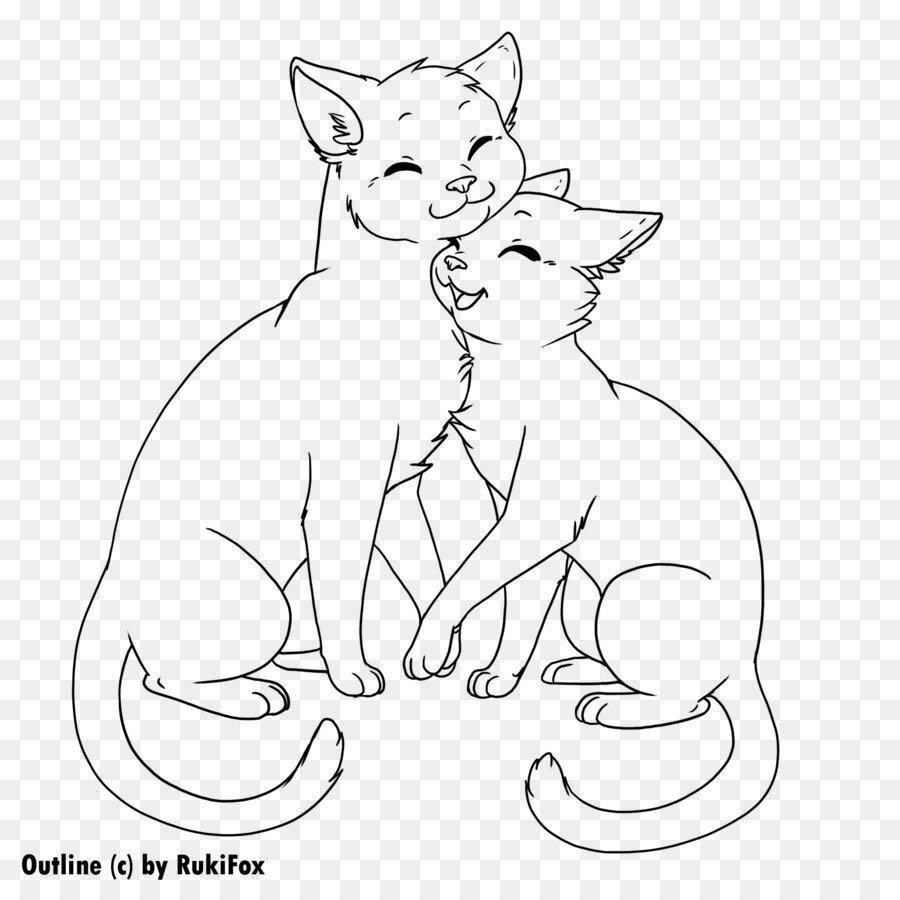 Влюбленные котики картинки нарисованные карандашом