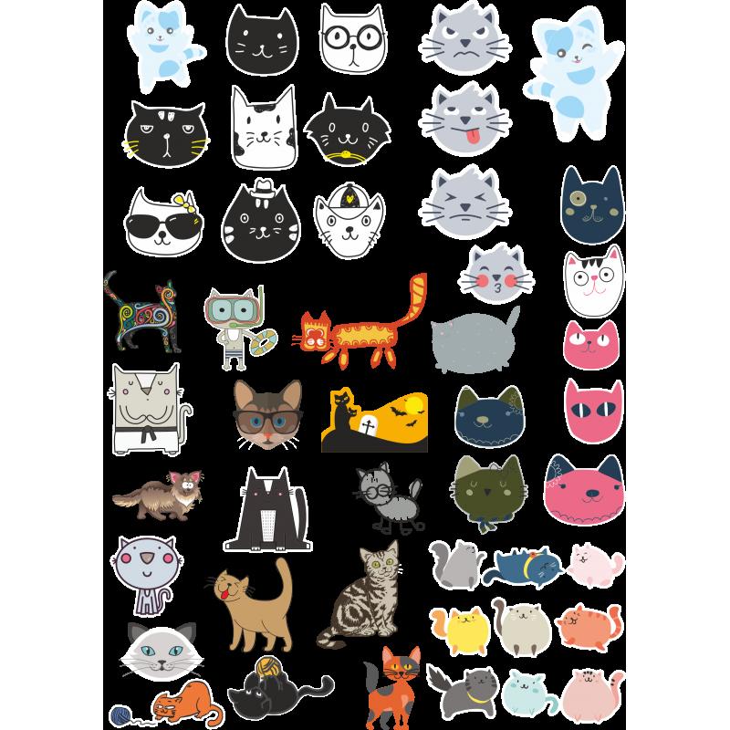 площадь наклейки коты печатать пока