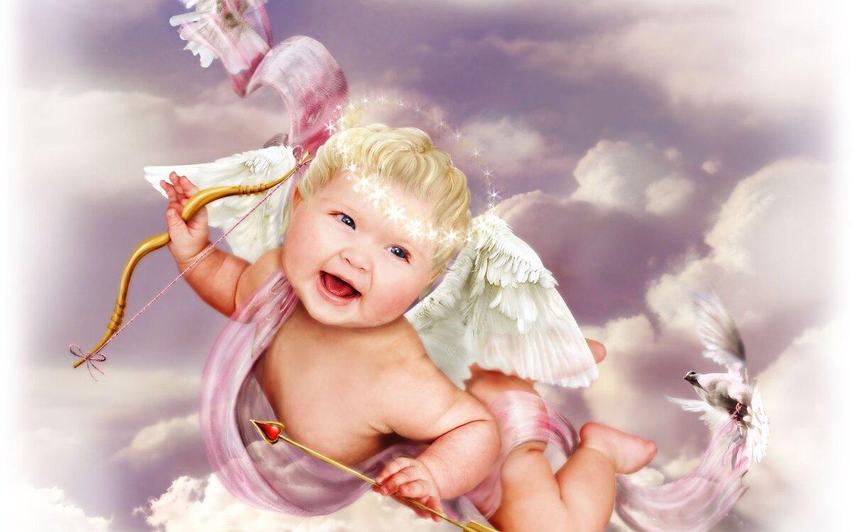Красивые картинки младенцы ангелочки