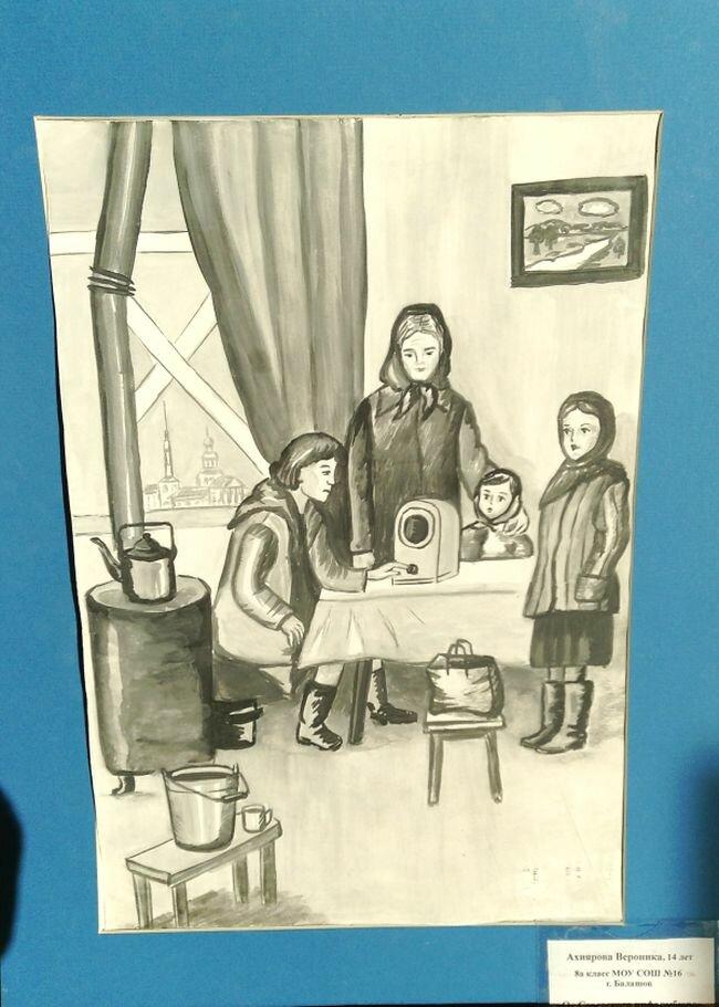иллюстрации к блокадному ленинграду пространство