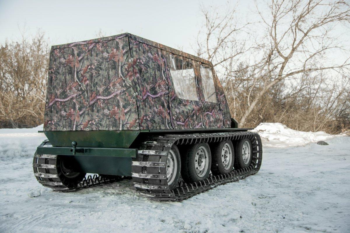 Снегоболотоход Егоза Охотник-2К