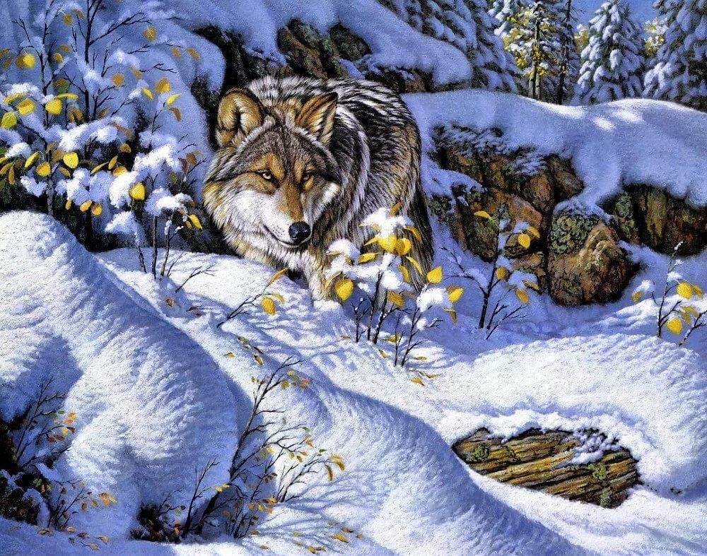 покрытие открытки птичка и волк этого йогурт выдавливаем