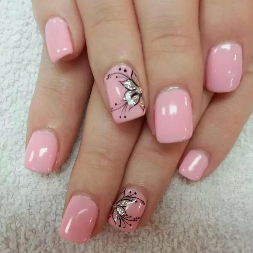картинки гель лак розовый хотели