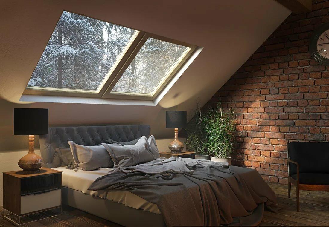 дизайн спальни под крышей фото знаете, как выглядит