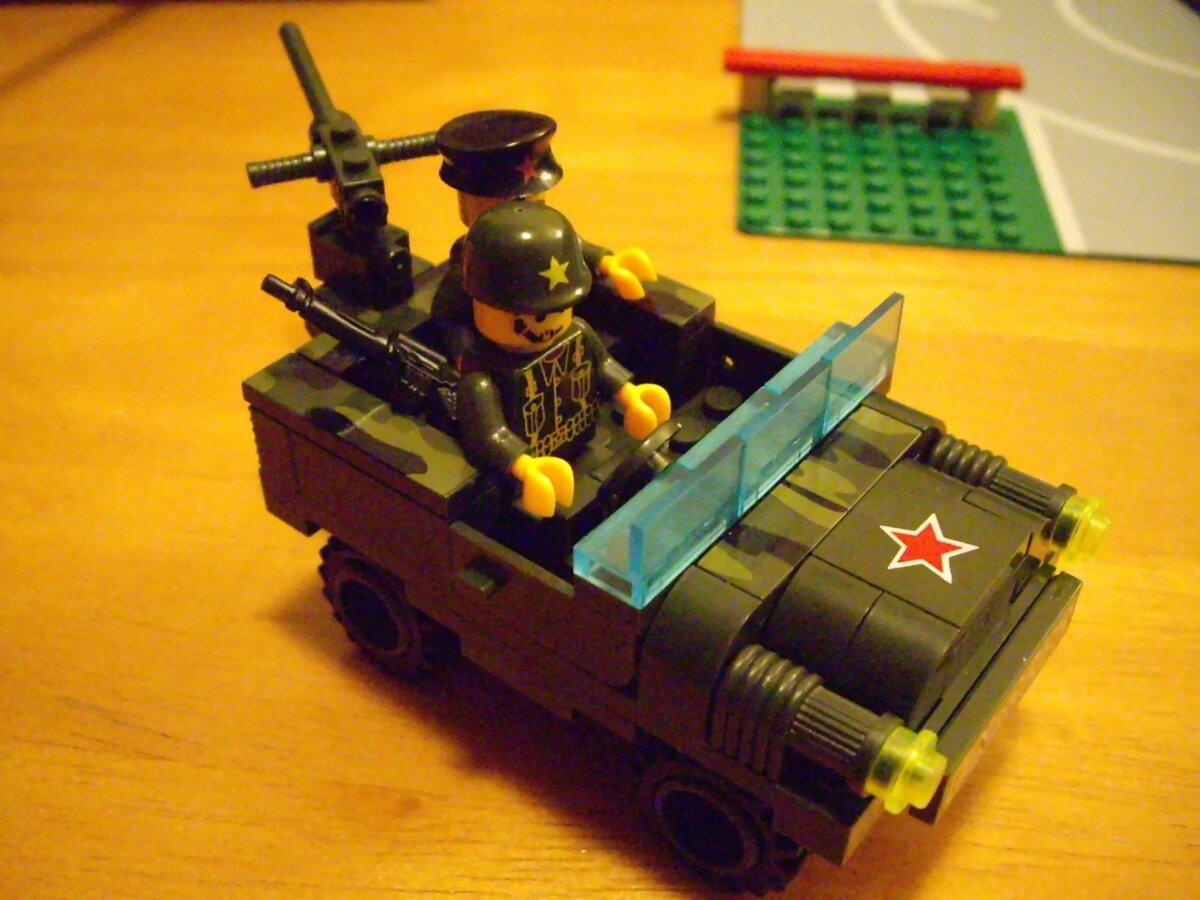 семье лего военная тематика картинки даже смутила