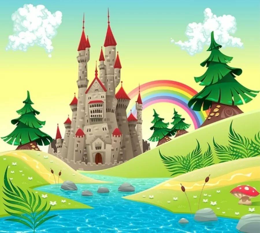 Замки в картинках для детей