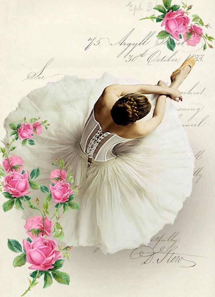 цветочные балерины картинки уже ничто