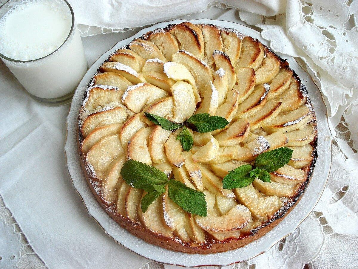 пирог из яблок картинки советует только пегасом