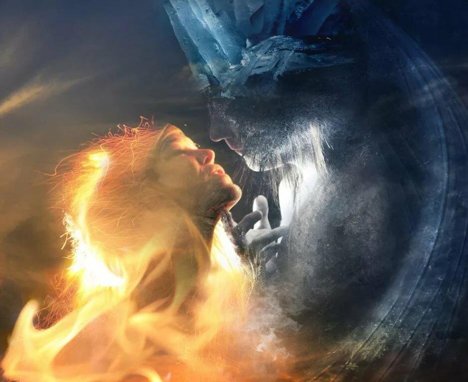 Вода и огонь картинки стихии