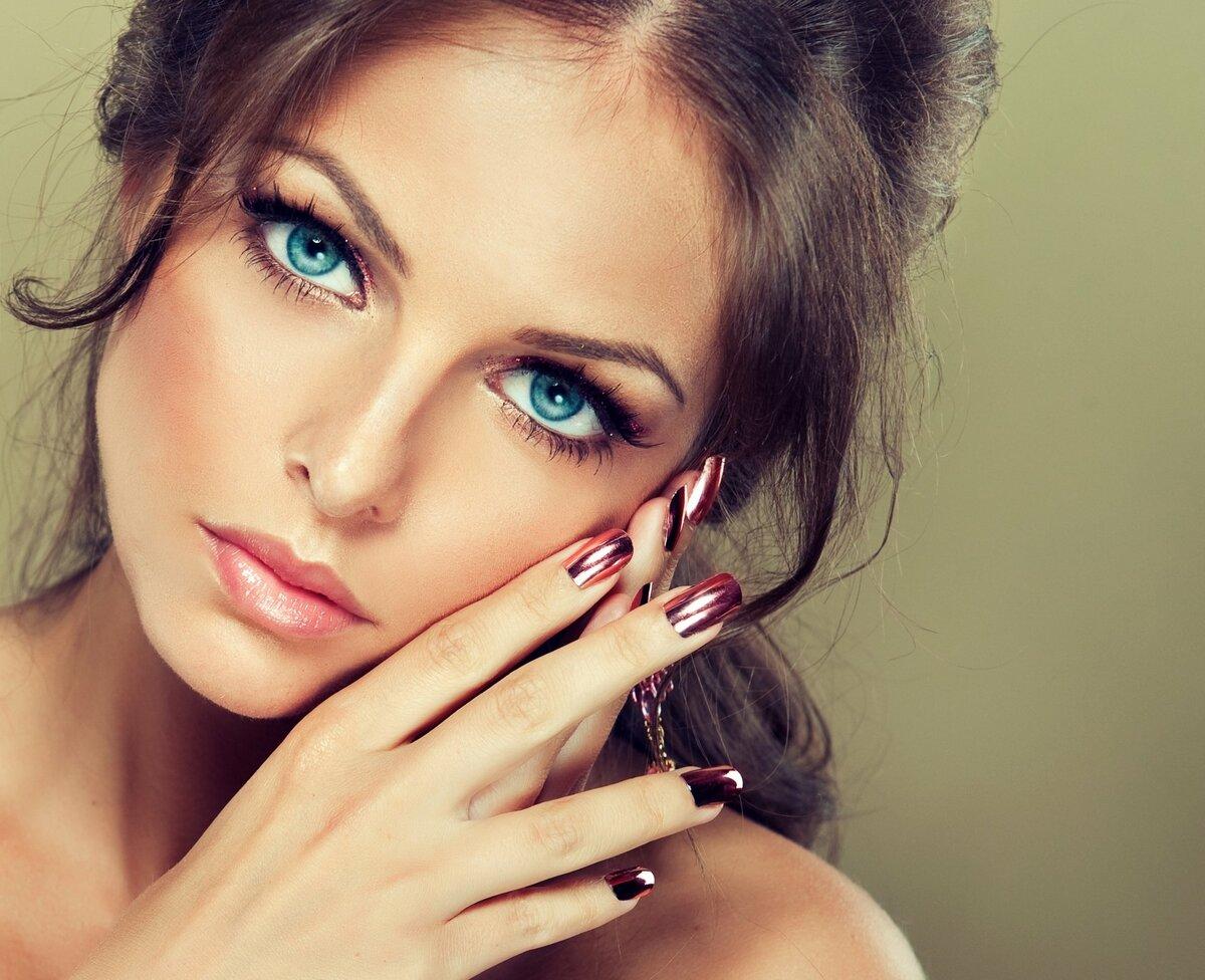 Открытки девушке с красивыми глазами, утро