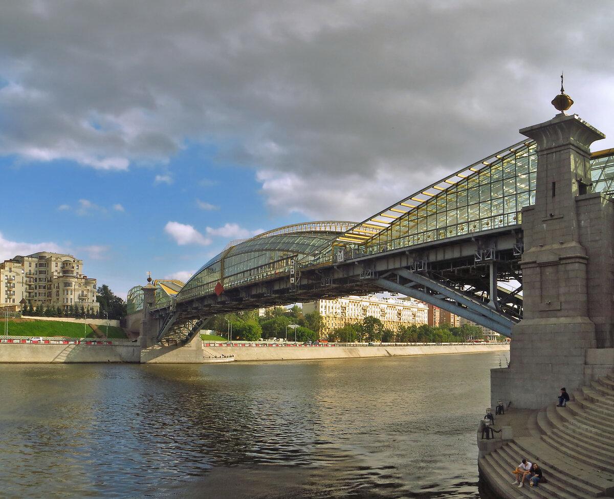 пешеходные мосты москвы фото игры