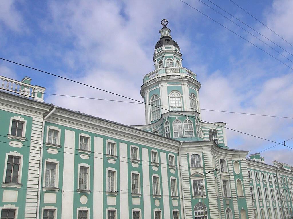 Кунсткамера картинки здание