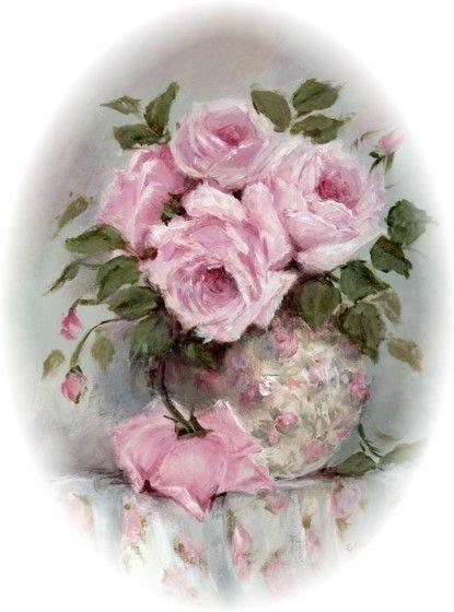 картинки розы в стиле шебби шик мой