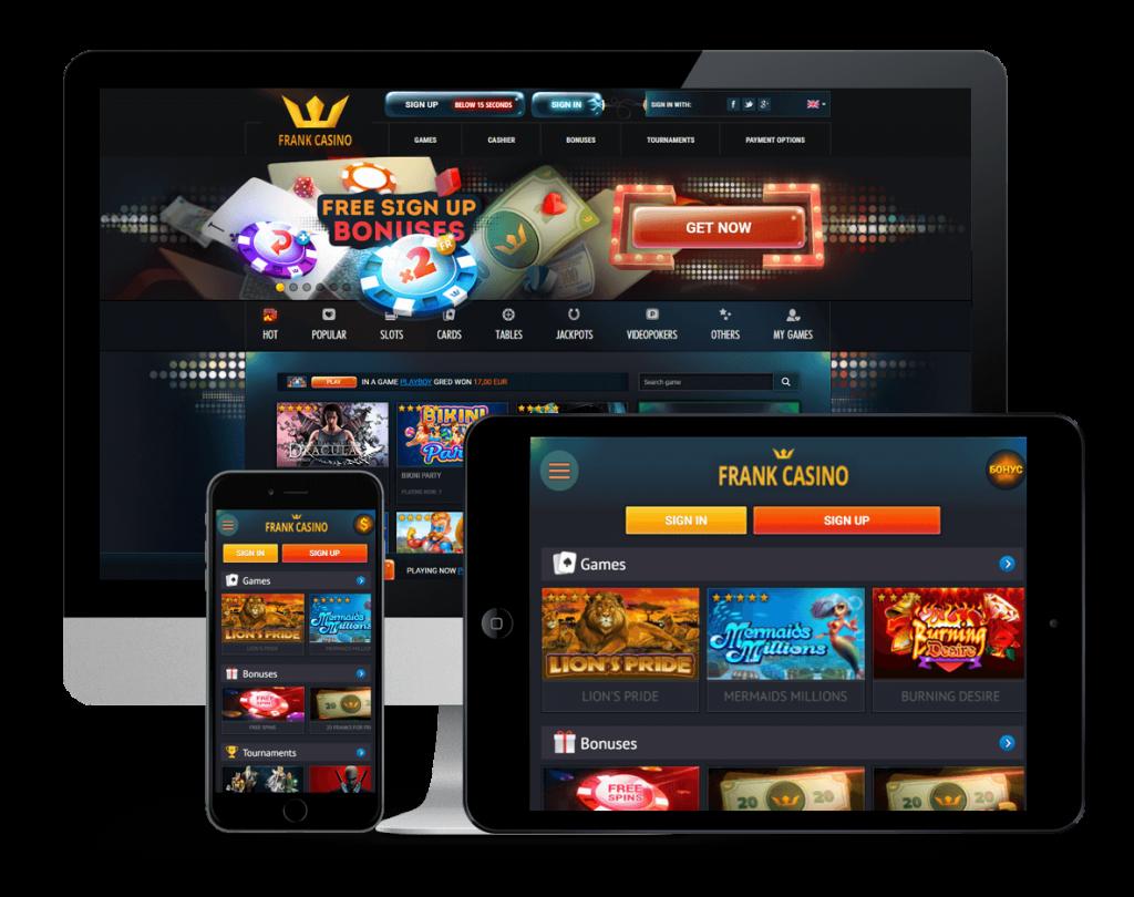 сайт онлайн казино франк