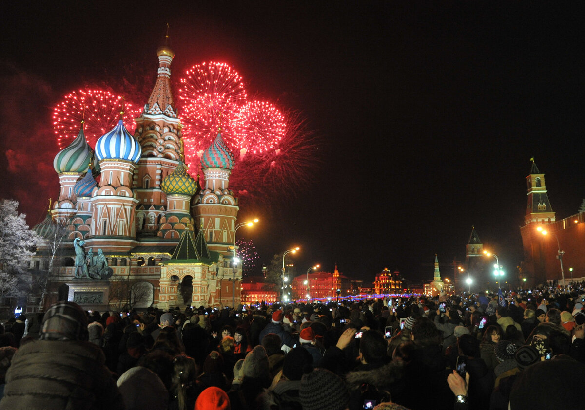 Российские новогодние картинки, открытка день рождения
