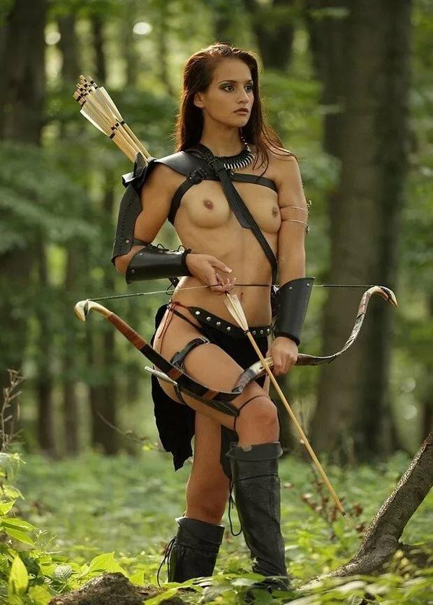 Nude hot warrior babes
