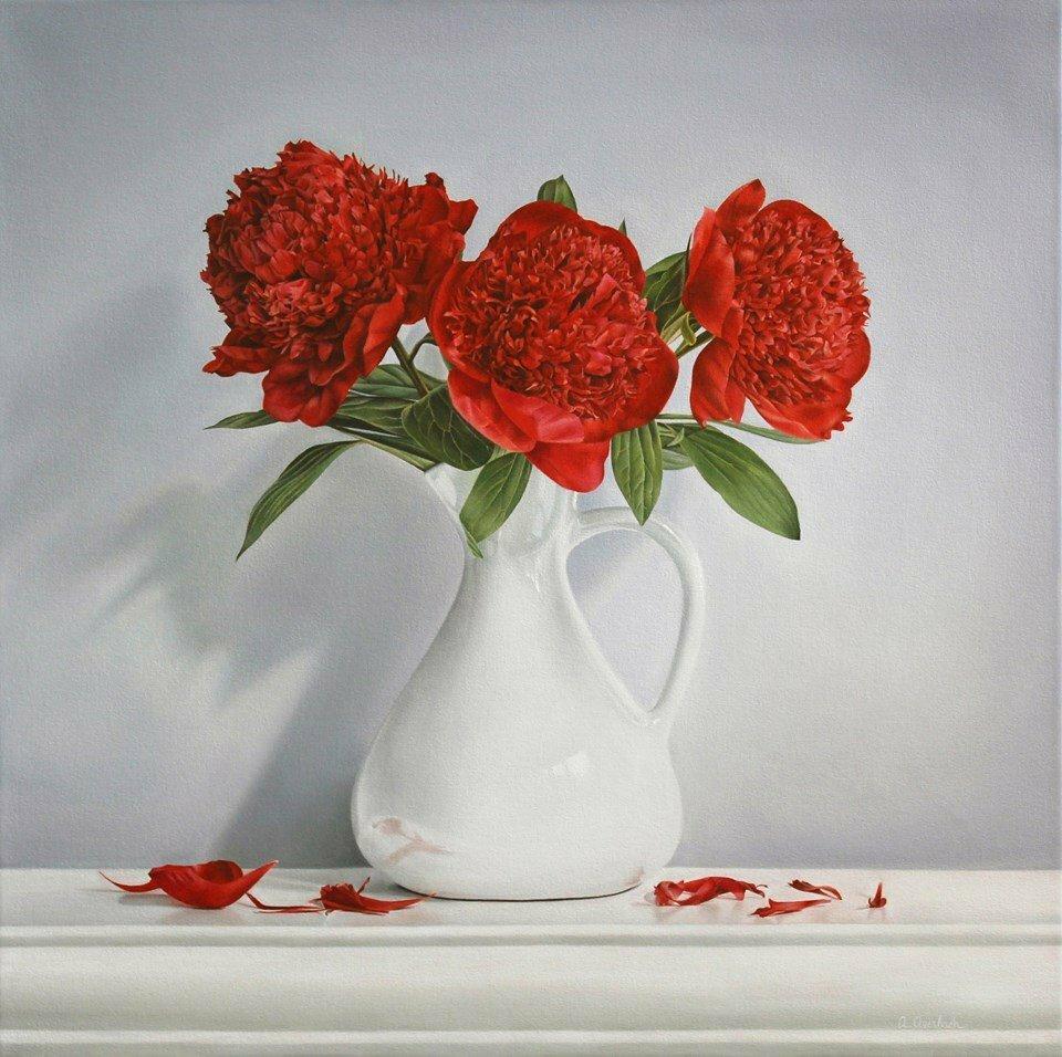 картинка три цветка в вазе потому, что них