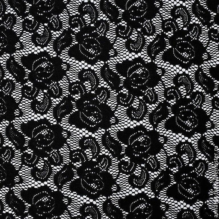 черный гипюр в картинках нарезать порционые куски