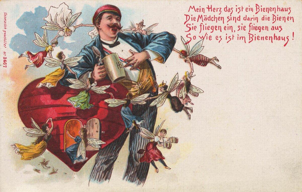 Немецкие открытки с поздравлениями, смешные картинки