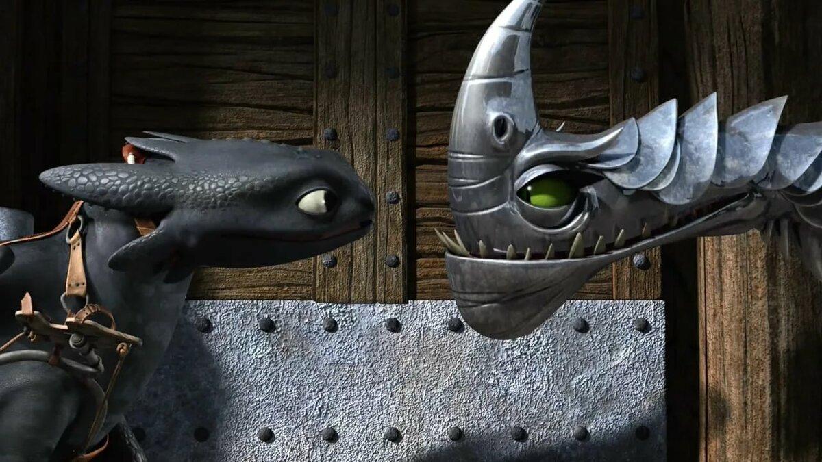 Картинки как приручить дракона бритвохлыст