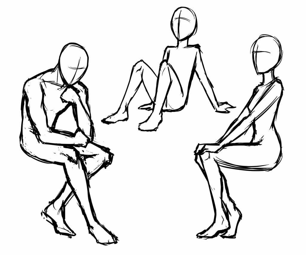 позы человека рисунки это время усадьбе