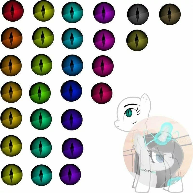 картинки с глазами пони креатор дождь вода