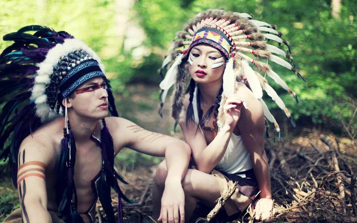 Картинки с индейской тематикой